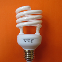 Energy Saving Half-Spiral Fluorescent Lamp 24w 6400k For Hotel Lighting made in p.r.c.
