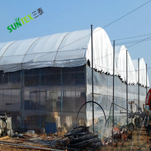 Light Deprevation Greenhouse Cover 100% Blackout Film 24' x 100' 6 mil Black White Hydroponics Industries Film