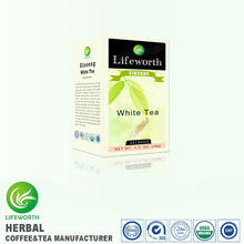 Chinese hot selling tea brands organic white ginseng tea
