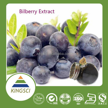 Manufacturer supply Natural Blueberry extract anthocyanins Blueberry anthocyanins