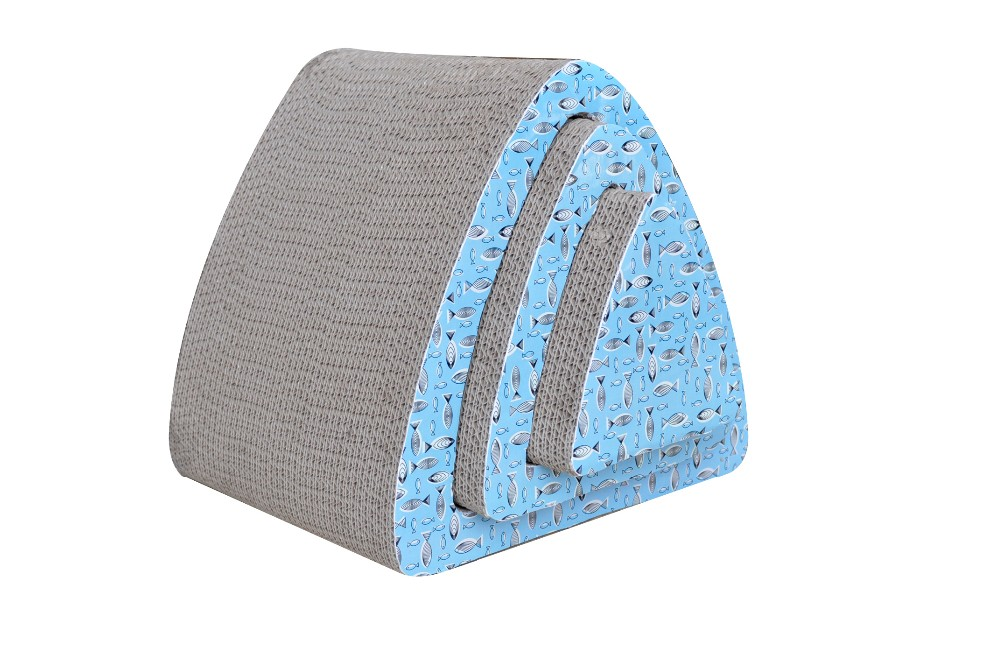 Deluxe Corrugated Cat Scratcher With Good Quality