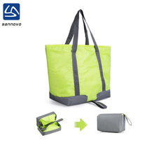 2017 new portable outdoor Insulated foldable cooler bag