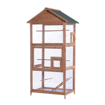 Large Outdoor High quality Wooden Bird Cage