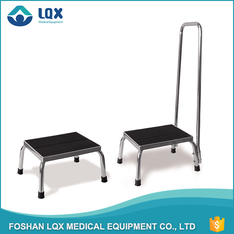 900*1100*700-900mm OEM/ODM Reinforced rubber feet 350lb capacity safety bedroom step stool for elderly With Handrail