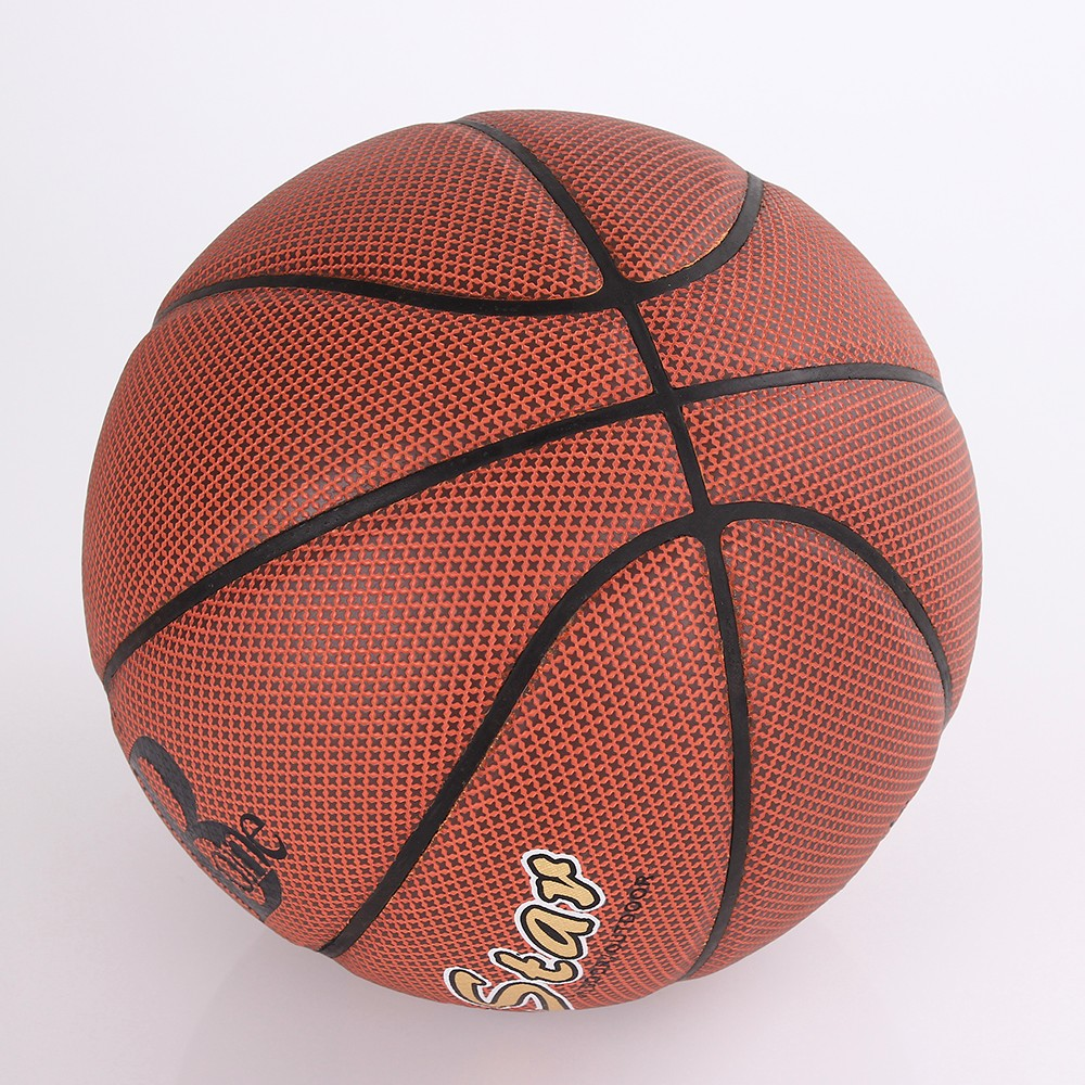 2015 new product genuine leather basketball
