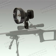 guangzhou shotgun manufacturer HID scope mounted spotlight hunting gun spotlight hunting equipment,175mm 35/55w searching torch