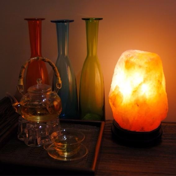E12 E14 Dimmable 100% Pakistan Natural Crystal Rock Himalayan Salt Lamp