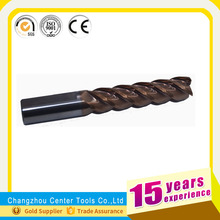 Changzhou factory machine sharpening milling cutter DIN844 cutting tool
