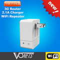 VOENTS 3G router*wifi repeater *2.1A charger VRP150