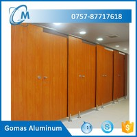High quality foshan aluminum wood toilet partition