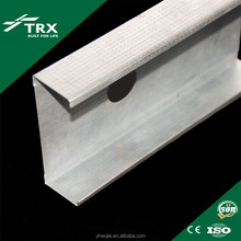 Factory directly sale low price galvanized steel profile c-channel metal stud