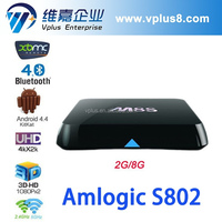 Vplus Best M8 Android 4.4 Rooted TV Box Quad Core XBMC 5.8GHz Wifi Mini PC