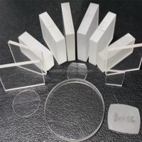 plano convex glass blanks, convex lens blank