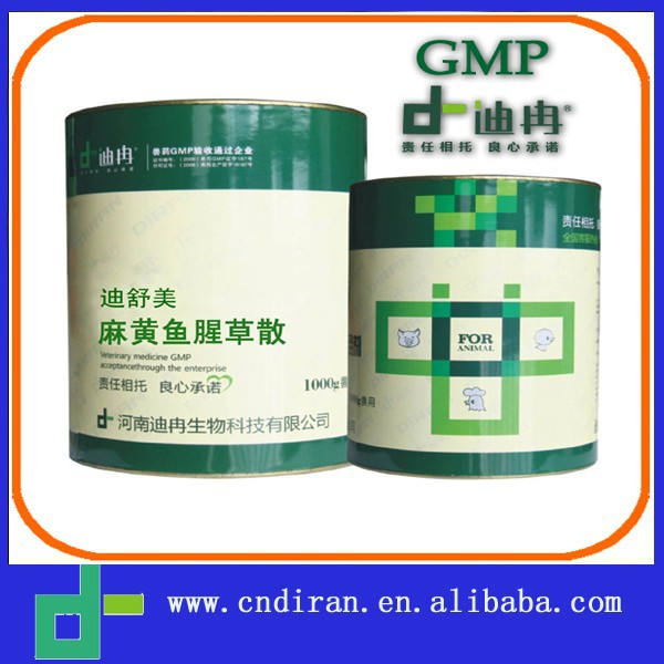 female veterinary drug Ephedra and Herba Houttuyniae Powder