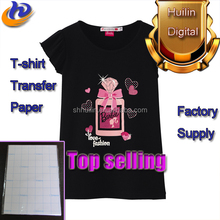 A4 170G 300G Dark T-shirt Heat Transfer Printing Paper For Polyster Fabric Price