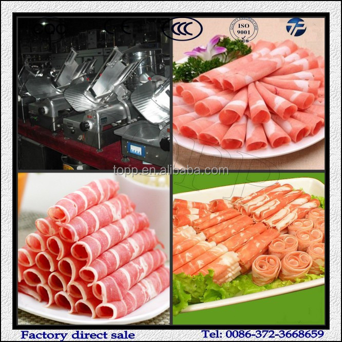 Good Price for Beef Roll Cutting Machine/Automatic Meat Slicer Machine