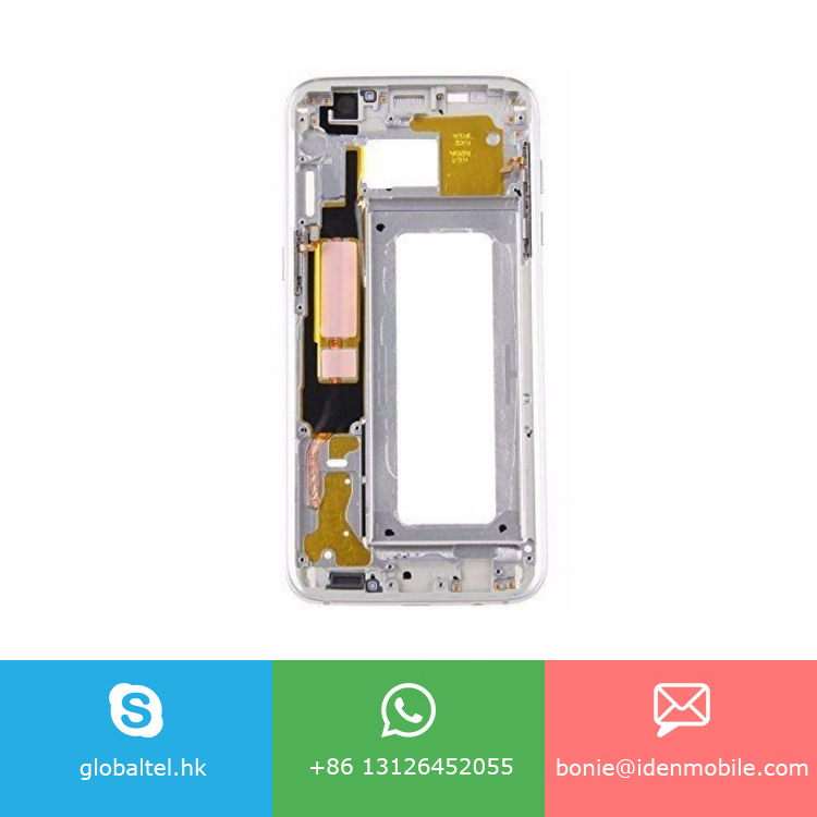 G930 Mid Middle Frame Bezel Plate Front Housing Phone Part for Samsung Galaxy s7
