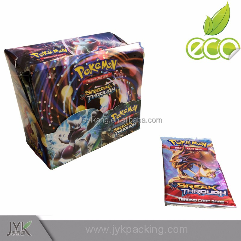 pokemon cardss booster pack hot selling Pokemon booster box cards