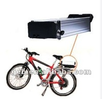 Rear rack lithium battery for electric bicycle,lifepo4 48V10Ah
