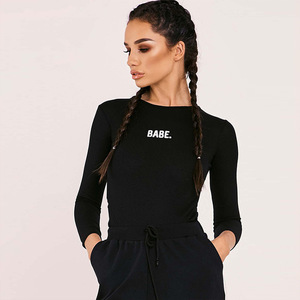 Small wholesale clothings jumpsuit sexy tops woman bodysuits