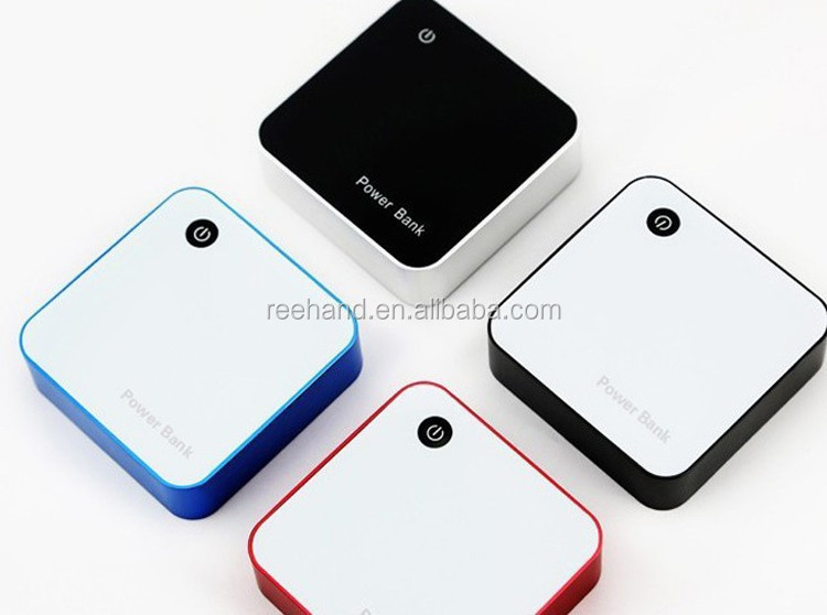 2015 New colorful cube power bank 6600-8400mAh for htc/blackberry cellphones