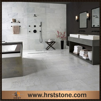 white marble flooring types colors