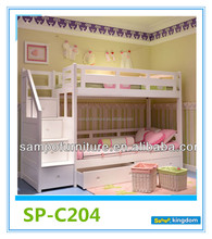 Cheaper Toddler Bedroom Furniture Bunk Beds for Girl