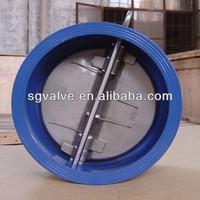 API dual disc wafer type check valve