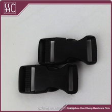 wholesale high quality black plastic side release buckle