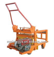 small concrete diesel engine powered mobile block making machine QM4-45
