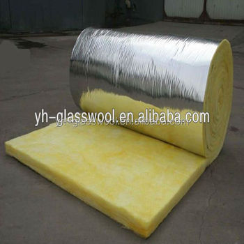 Fiber glass blanket insulation with foil reinforce kraft for Glass fiber blanket insulation