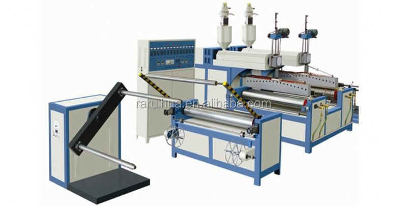 Double-screw Plastic PE used film blowing machine from China Manufacturer