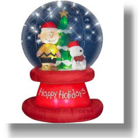 Latest design for christmas inflatable snow globe