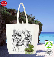 16OZ High Quality Durable Cotton Canvas Tote Cheap Cloth Bag