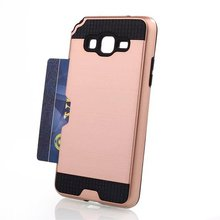 TPU PC 2 in 1 Shockproof armor mobile phone case for samsung galaxy grand prime G530 case