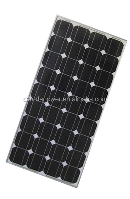 100w mono solar panel with recycable use for global circumstance
