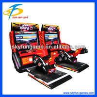 Crazy game 42 inch Nail'd Motor driving simulator