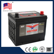 high quality manufacturer supply 75d23 mf 12V65Ah Car Battery