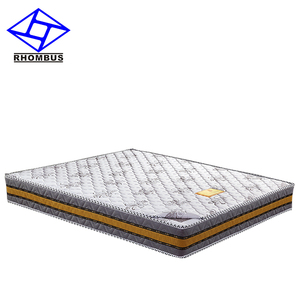 8008 customize 7-zone pocket coil 5 star hotel spring mattress