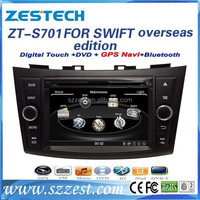 Car dvd gps navigation system for suzuki swift best selling car accessories touch screen car stereo for suzuki swift