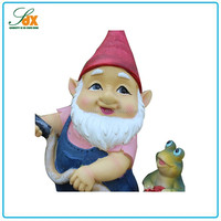 Excellent quality newest style resin gnome figurines