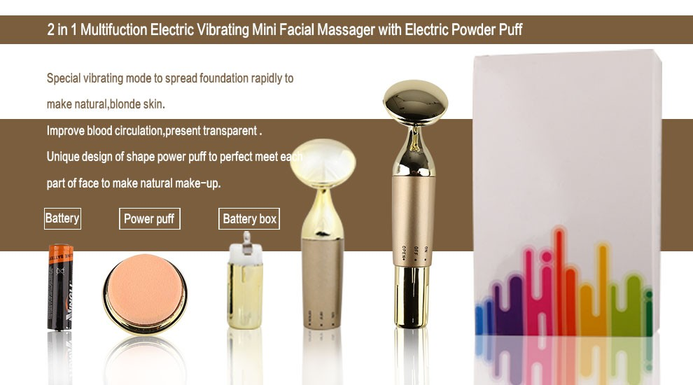 2017 trending products electric multifunction home use galvanic facial machine lift face skin beauty equipment battery operated
