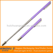 Long handle stainless steel extending pointer