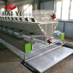 Live Poultry Industrial Indoor Rabbit Farming Cage For Sale Cheap