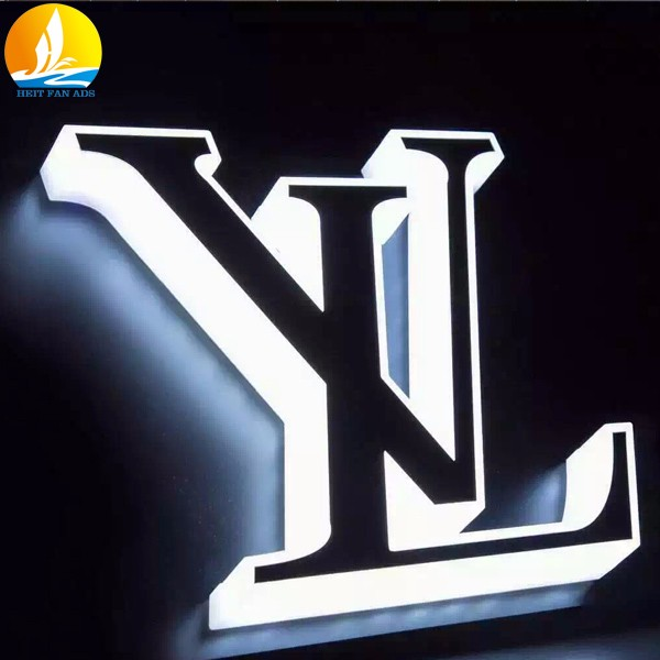 big metal letters with lights hot selling led light letters fast delivery 3d back lit brass letter signs