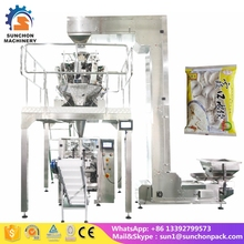 Stainless Steel Automatic 1kg 2kg Ice Cube Packing Machine