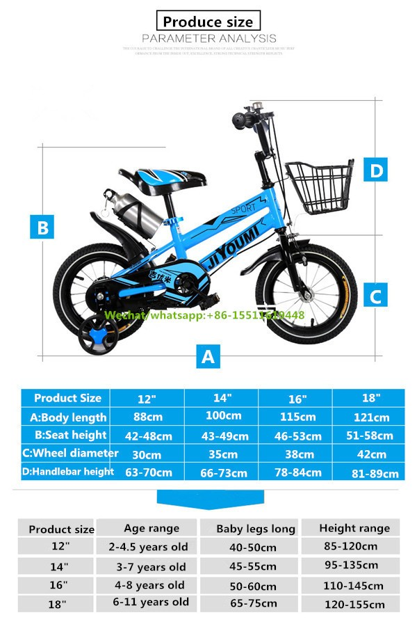 12 Inch Wheel Size Bicycle For Children/bmx Bicycle Kids Bike For ...