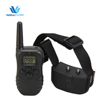 Hot Selling 100 Static Shock Vibrate Intensity Dog Trainer 300m Remote Pet Dog Training Shock Collar 998D