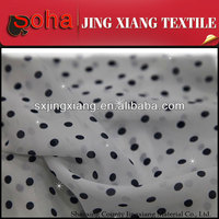 Shaoxing textile Competitive price Spandex 100% Polyester Chiffon Fabric For gradient color chiffon fabric