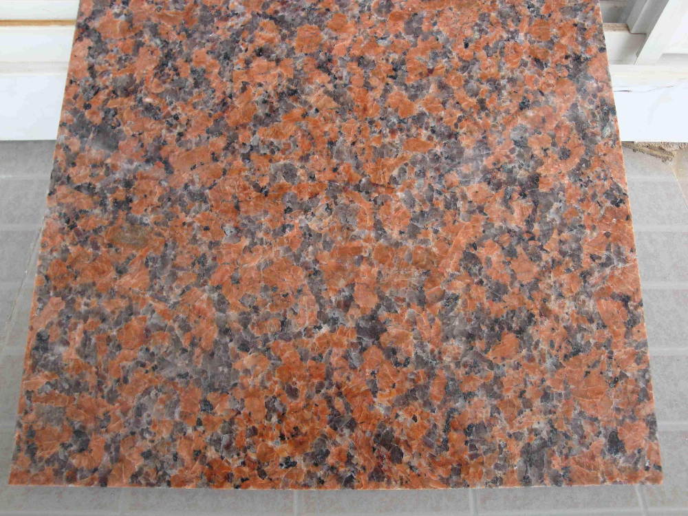 Chinese G562 granite big slab red granite tiles